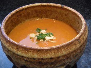 Carot ginger miso soup 012