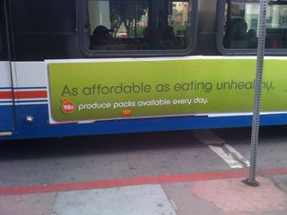 As affordable as eating unhealthy