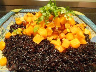 Black rice butternt squash 013