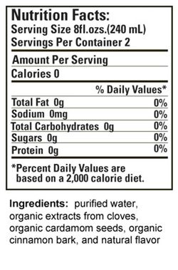 16oz Nutrition Facts - CCC