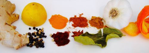 Spice and herb for blog