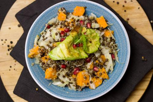 Salad-lentil-quinoa