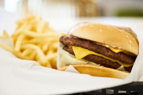 Burger-chips